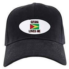 Guyana Loves Me Baseball Hat