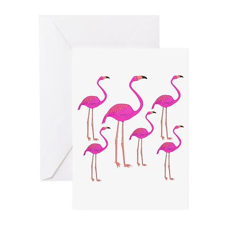 Flamingos Greeting Cards (Pk of 10)