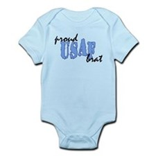 Unique Military brat Infant Bodysuit