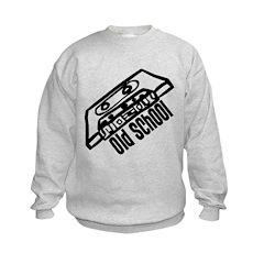 Old School Cassette Kids Sweatshirt