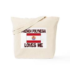 French Polynesia Loves Me Tote Bag