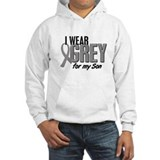 I Wear Grey For My Son 10 Hoodie Sweatshirt