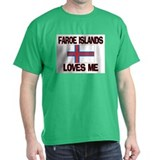 Faroe Islands Loves Me T-Shirt