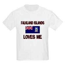 Falkland Islands Loves Me T-Shirt