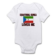 Equatorial Guinea Loves Me Infant Bodysuit