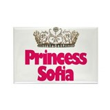 Princess Sofia Rectangle Magnet