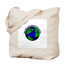 World's Greatest Scientist Tote Bag