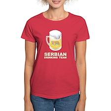 Serbian Drinking Team Tee