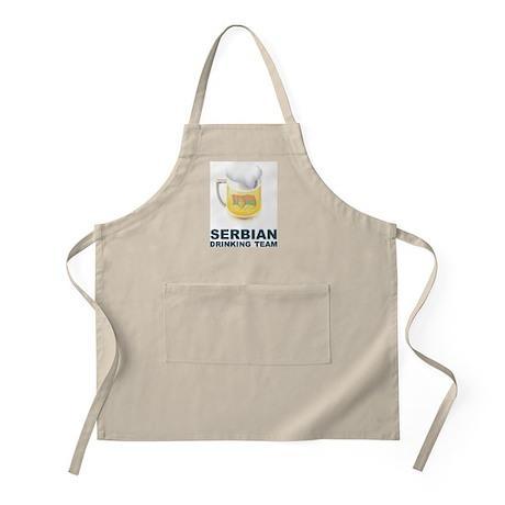Serbian Drinking Team BBQ Apron