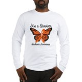 I'm a Survivor (Leukemia) Long Sleeve T-Shirt