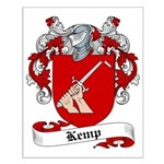Kemp Family Crest Small Poster