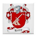 Kemp Family Crest Tile Coaster