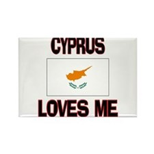 Cyprus Loves Me Rectangle Magnet (10 pack)
