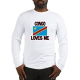 Congo Loves Me Long Sleeve T-Shirt