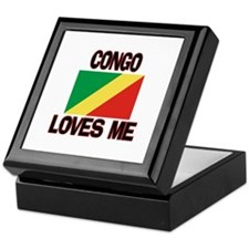 Congo Loves Me Keepsake Box