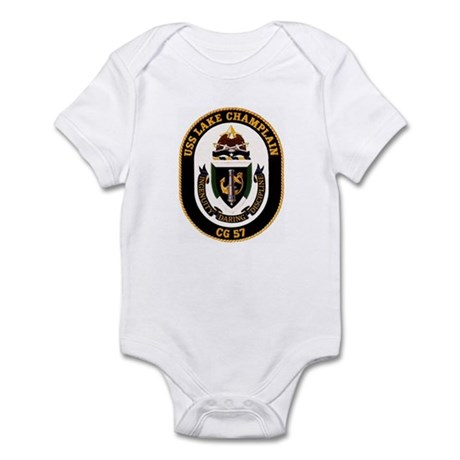 USS Lake Champlain Infant Bodysuit