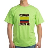 Colombia Loves Me T-Shirt