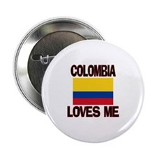 "Colombia Loves Me 2.25"" Button (10 pack)"