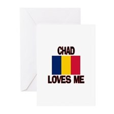 Chad Loves Me Greeting Cards (Pk of 10)