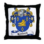 Kinloch Family Crest Throw Pillow