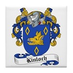 Kinloch Family Crest Tile Coaster