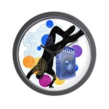 Breakdancer Wall Clock
