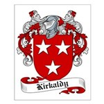 Kirkaldy Family Crest Small Poster