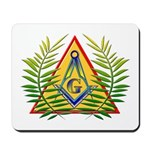 Masonic Acacia & Pyramid Mousepad