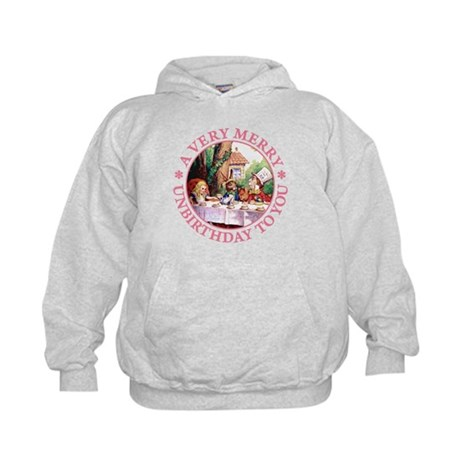 A VERY MERRY UNBIRTHDAY TO YOU Kids Hoodie