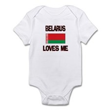 Belarus Loves Me Infant Bodysuit