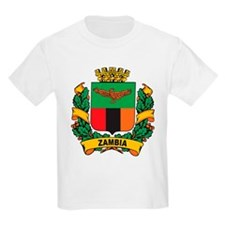 Stylish Zambia Crest T-Shirt
