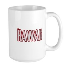 HAWAII (distressed) Mug
