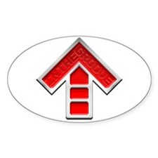 I'm In The Groove ITG Oval Sticker (10 pk)