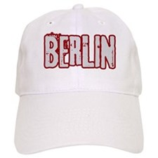 BERLIN (distressed) Baseball Cap