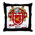 Knox Family Crest Throw Pillow