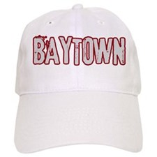 BAYTOWN (distressed) Baseball Cap