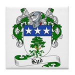 Kyd Family Crest Tile Coaster