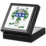 Kyd Family Crest Keepsake Box