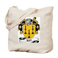 Kyle Family Crest Tote Bag