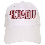 ECUADOR (distressed) Baseball Cap