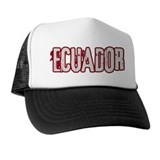 ECUADOR (distressed)  Trucker Hat