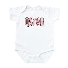 QATAR (distressed) Infant Bodysuit