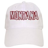 MONTANA (distressed)  Baseball Cap