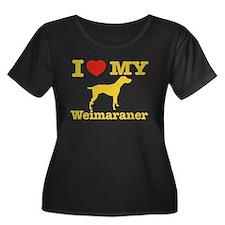 I love my Weimaraner T
