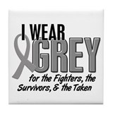 I Wear Grey 10 (Fighters Survivors Taken) Tile Coa