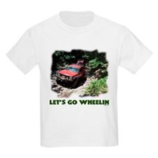 Let's Go Wheelin' Kids T-Shirt