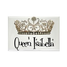 Queen Isabella Rectangle Magnet