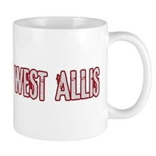 WEST ALLIS (distressed) Mug