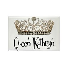 Queen Kathryn Rectangle Magnet