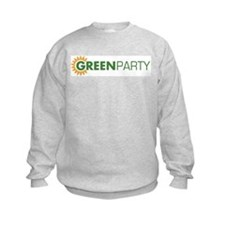 Green Party Logo (sunflower)  Sweatshirt